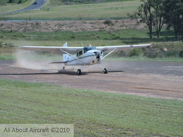 Cessna Skywagon 180/185 specifications, model changes
